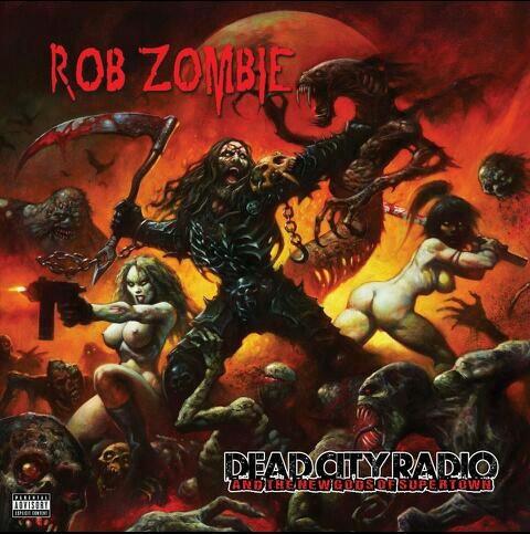 Rob Zombie New Album Cover Music Pinterest Rob