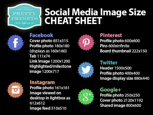 http://www.lightroompresets.com/blogs/pretty-presets-blog/14515129-social-media-image-size-cheat-sheets