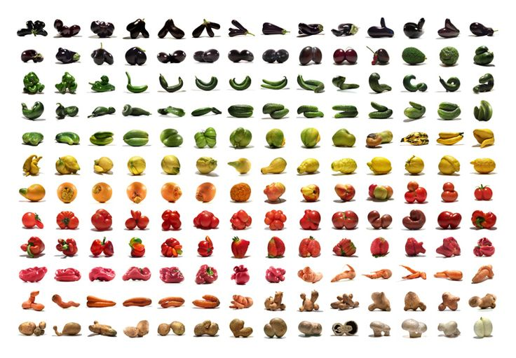 The Mutato Project by by uliwestphal: Nonstandard fruits, roots and vegetables whose beauty is revealed only when commercial standards cease to exist.  #Illustration #Mutato_Project #uliwestphal: Color, Food, Art, Fruits And Vegetables, Veggies, Mutato Project, Rainbow, Design