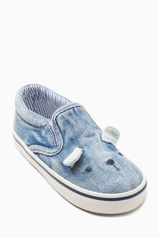ae2bbf286be Denim Print Bear Skate Shoes (Younger)