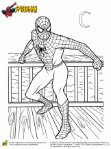 Coloriage SpiderMan sur Hugolescargot.com