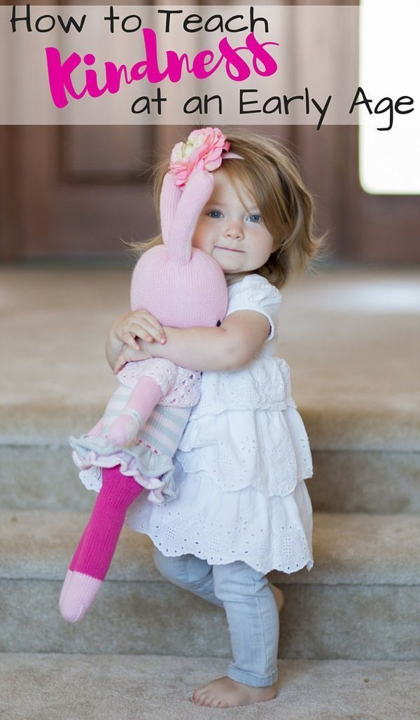 It's so much easier to teach these principles if you start when they are young! Great tips for teaching kindness! http://mothersniche.com/teaching-toddler-kindness-sharing/