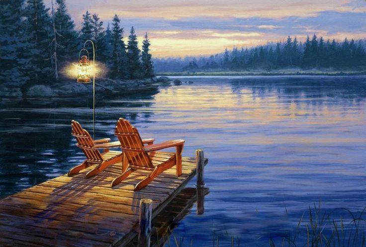 68 Best Darrell Bush Art Images On Pinterest Painting