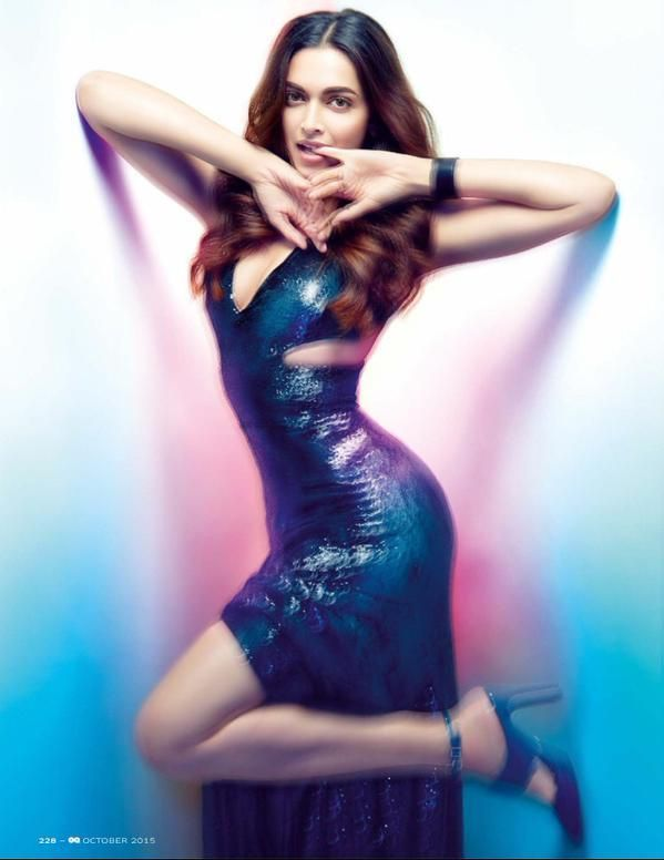 Deepika Padukone sizzles at the photo-shoot for GQ