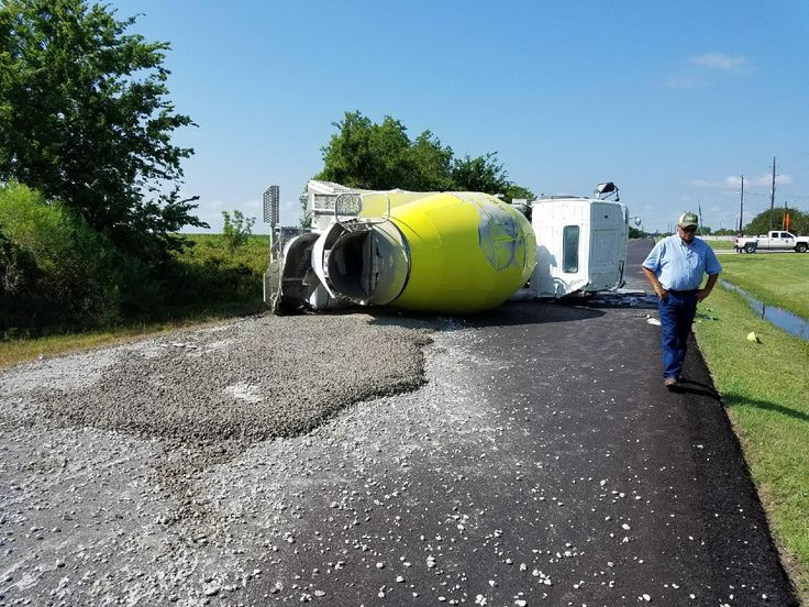 Several intersections in Fort Bend County are closed Tuesday morning after a concrete truck rollover caused one street to cave in.