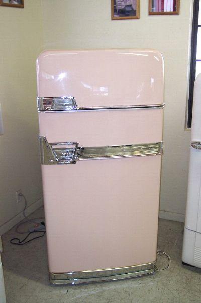 Vintage 19450's frige.