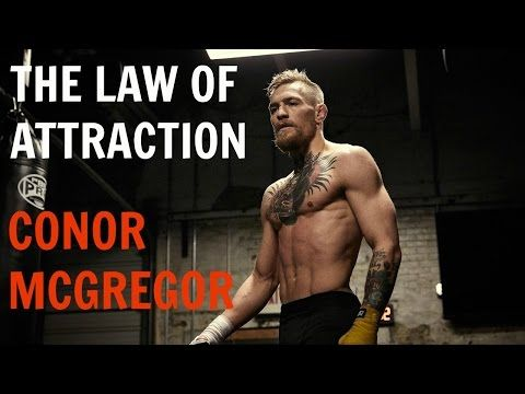 I AM Buddy, The BUDDHA From Mississippi ™: Conor McGregor - The Law of Attraction