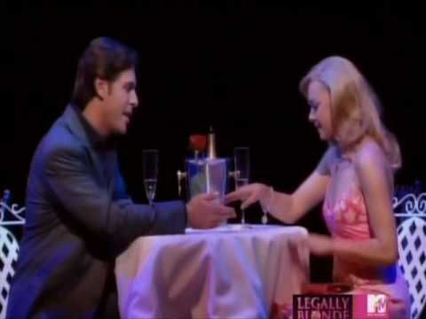 NO COPYRIGHT INFRIGMENT INTENDED  Clip form legally blond the musical at the palace theatre  Serious performed by laura bell bundy(elle woods) and Richard H Blake (warner hunington III)