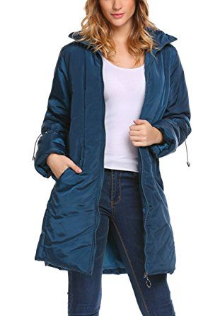 Elesol Women's Stand Collar Down Puffer Parka Jacket Winter Warm Long Coat Review