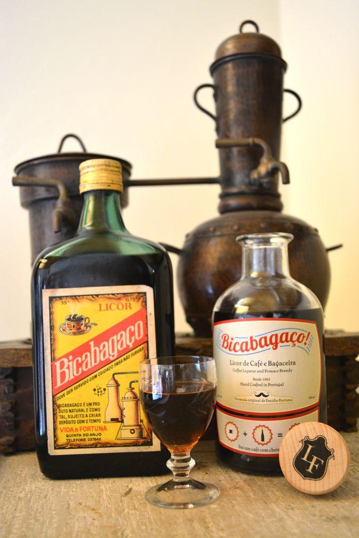 Bicabagaço® o nosso licor de café e bagaceira   Our coffee liqueuer and pomace brandy     Products of Portugal