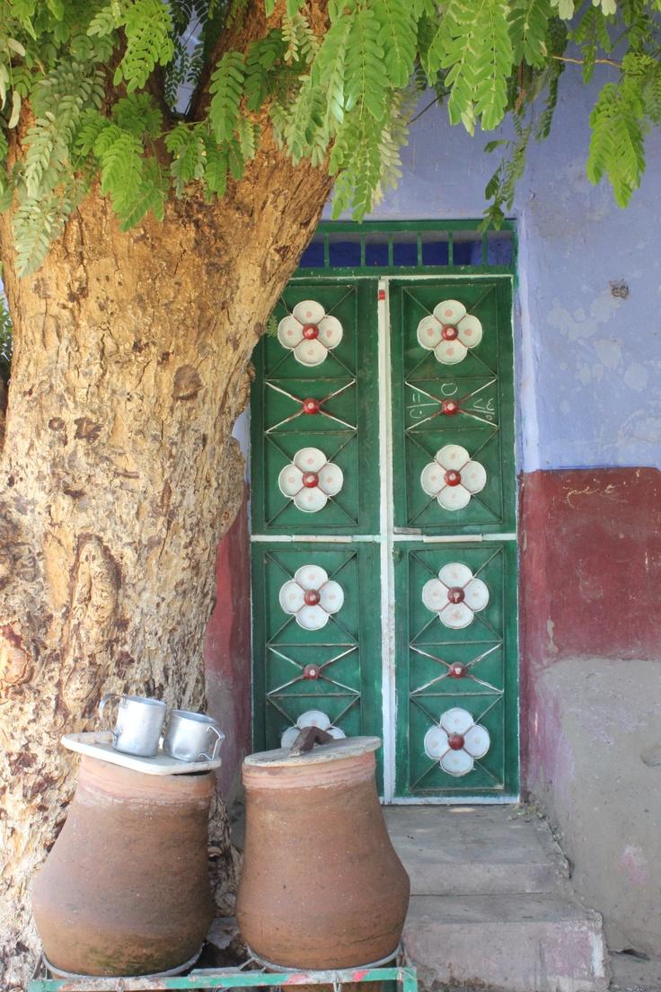 Nubian village door - Egypt