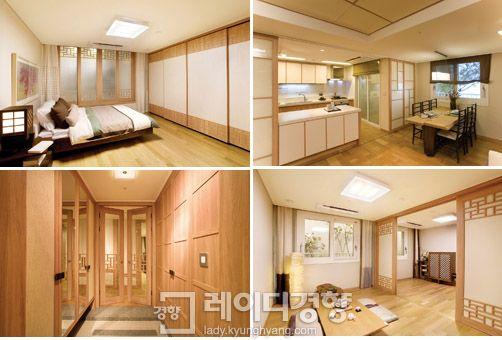 한옥 모티브 집  Houses with Korean style