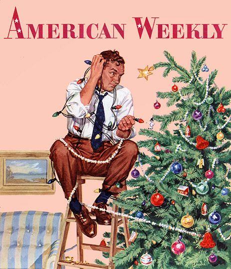 Vintage 1953  American Weekly