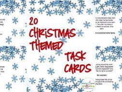 An original set of 20 Task Cards designed to stimulate creativity and imagination. The cards can be used as group or individual activities. As a group activity the cards foster communication and discussion in order to solve the problems. In a ...