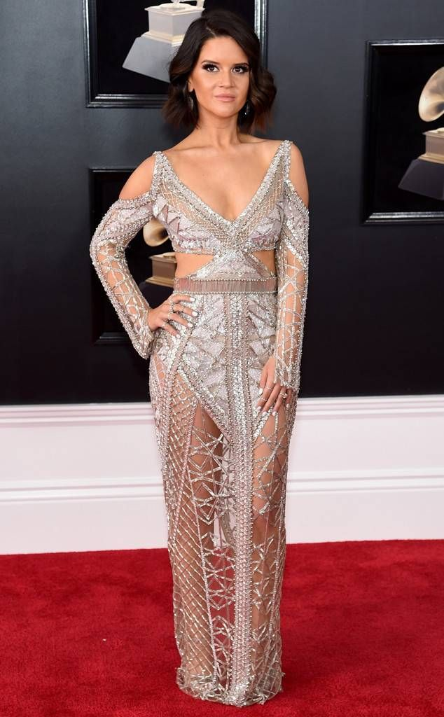 Love this dress worn by Maren Morris from 2018 Grammys Red Carpet Fashion  In Julien Macdonald