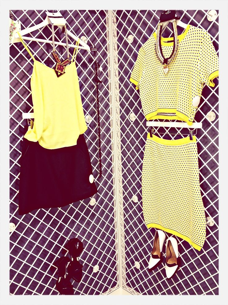 They call it mellow yellow!! #yellow #twopiece #topshop #personalshopping