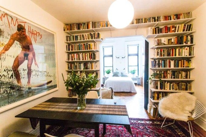 Warm, Eclectic One Bedroom   A Cup of Jo