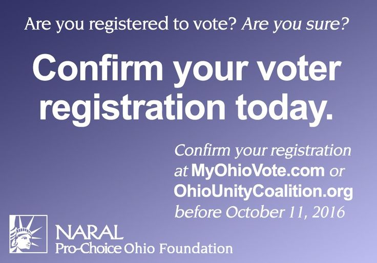 OHIO voter registration - Twitter Search