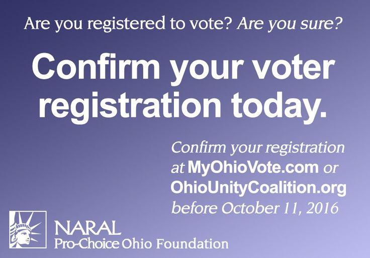 OHIO voter registration - Twitter Search