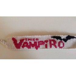Bracelet inscription Chica Vampiro