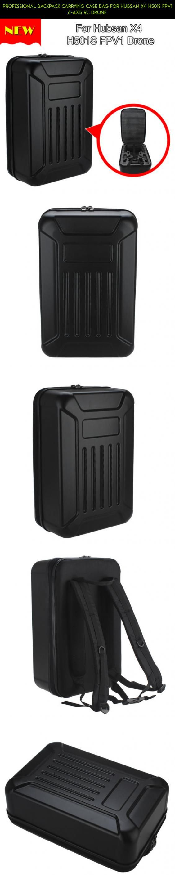 Professional Backpack Carrying Case Bag for Hubsan X4 H501S FPV1 6-Axis RC Drone #gadgets #camera #professional #products #shopping #tech #parts #racing #hubsan #drone #technology #fpv #kit #plans