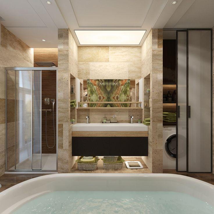 Роскошь от природы - Ванная комната 3D – Комфорт & Стиль   PINWIN - конкурсы…
