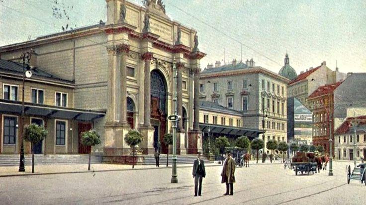 Denis Station, 1875   (later Těšnov)