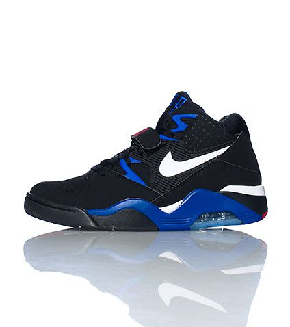 NIKE Air Force 180 men\u0027s sneaker Charles Barkley Lace closure with single  velcro strap Padded tongue with NIKE air 180 logo Air bubble heel for  comfort