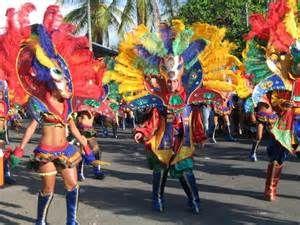 Carnival in Puerto Limon Costa Rica