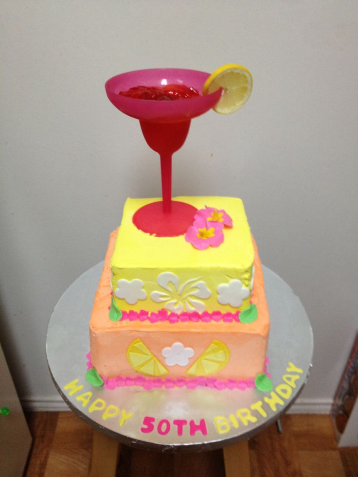 Mom S 50th Birthday Cake Kirsten Cakes Pinterest