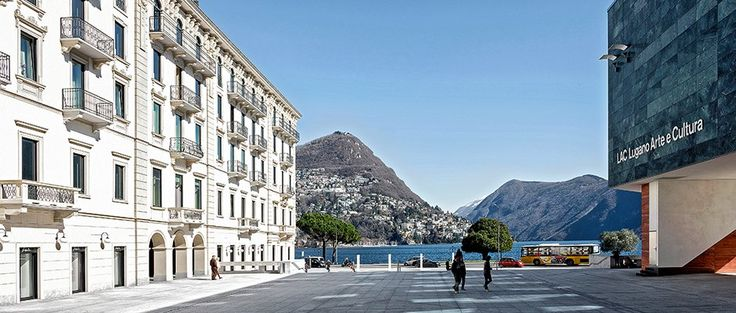 Lugano séduit avec son nouveau centre culturel LAC.
