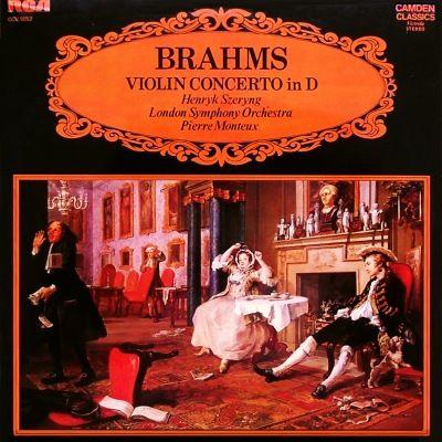 Music is the Best: Henryk Szeryng, LSO, Pierre Monteux – Brahms – Vio...