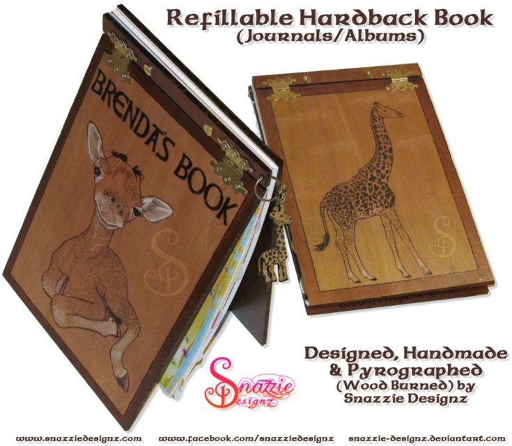 Refillable Hardback Book/Journal - Full Book by snazzie-designz on DeviantArt