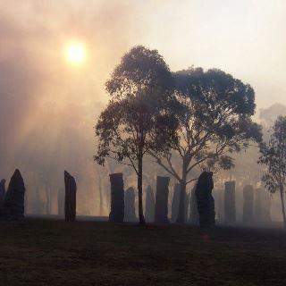 Glen Innes, Australia...not ancient. Erected in memory of all those who both willingly and (most) unwillingly came to Australia from their Celtic lands.