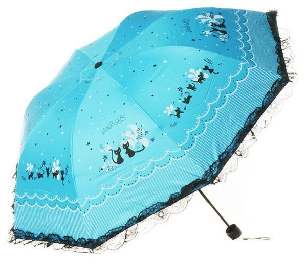 Love and Letters Windproof Sun and Rain Umbrella  -  Shop the Cutest Stuff on Earth: CuteFTW.com