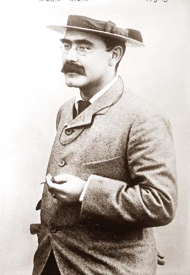 """Rudyard Kipling (1865-1936) Ecrivain britannique, auteur de romans, de poèmes et de nouvelles.   """"Si..."""" Ce poême fut écrit en 1910, à l'intention de son fils, John, alors agé de 12 ans."""