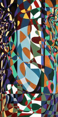 "Saatchi Art Artist Graziella Coi; Painting, ""Questa giungla mi distrugge (2 di 3)/ This jungle destroys me (2 of 3)"" #art"