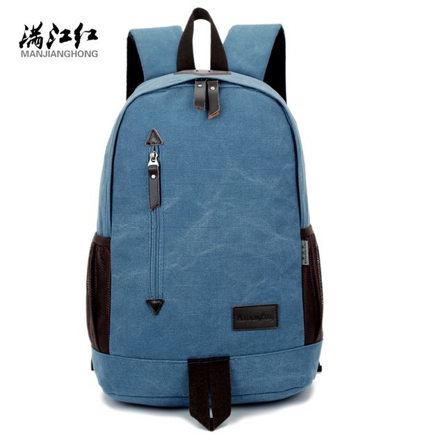 Check current price Fashion Design Manjianghong Canvas Backpack Chinese Man's Backpack Bag University Students' Leisure School Bag Mochila Bag 1265 just only $22.74 with free shipping worldwide  #backpacksformen Plese click on picture to see our special price for you