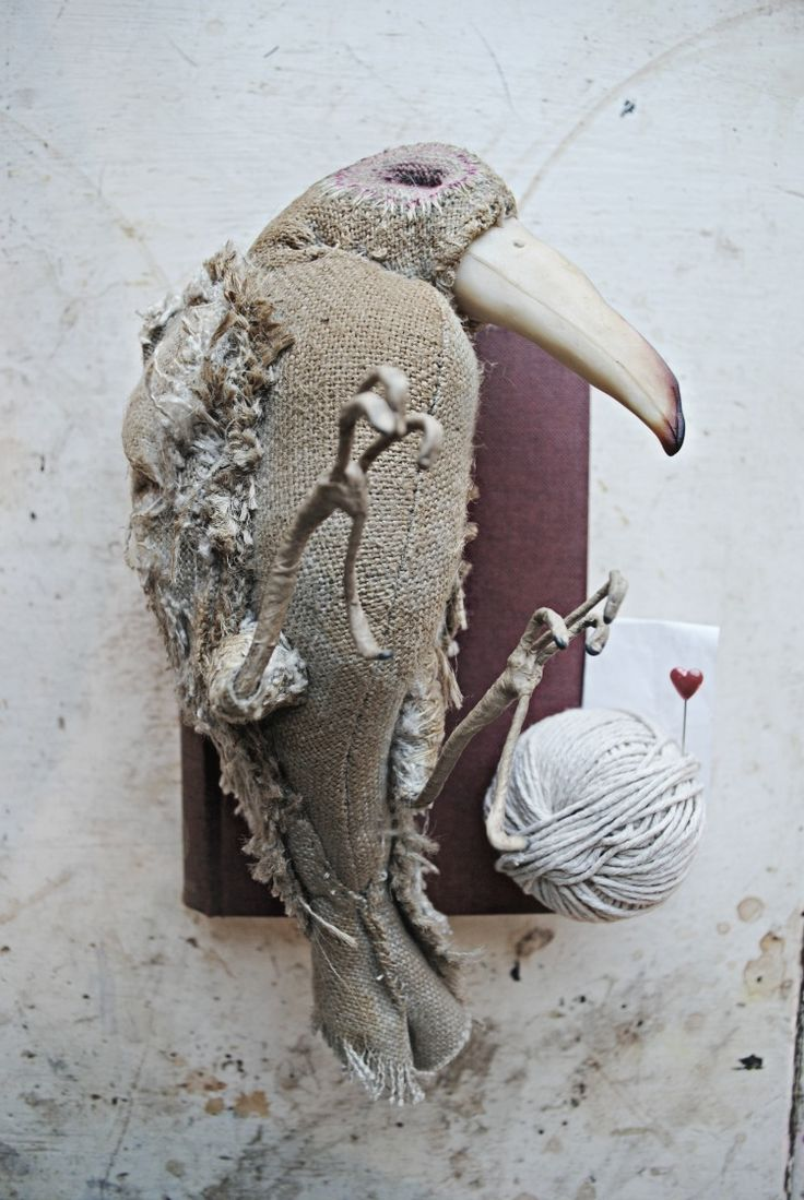 Textile Bird By Mister Finch