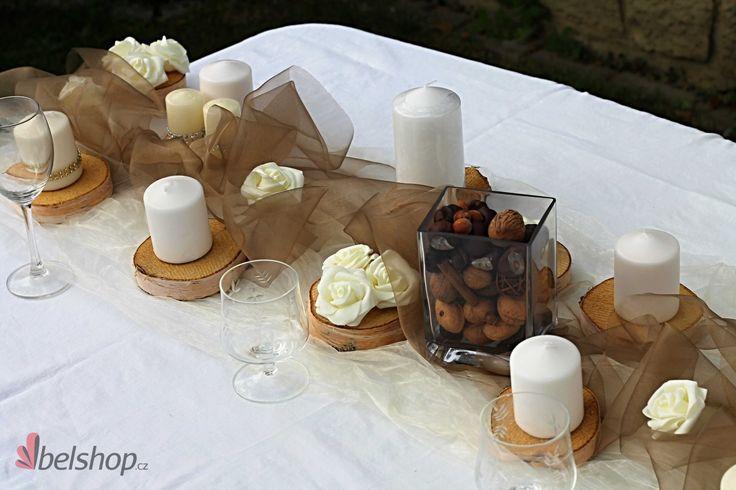 Rustic wedding. www.belshop.cz