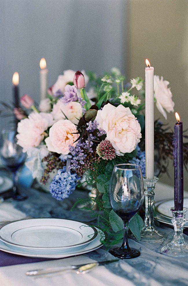 Moody Indigo Wedding Inspired by Dark and Light - Utterly Engaged