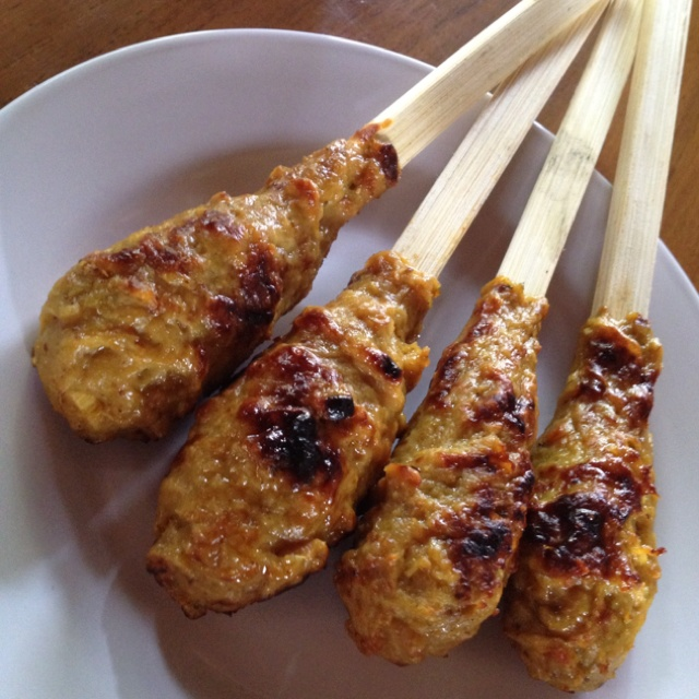 Tuna Satay (Bali traditional food)