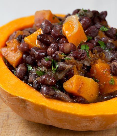 estofado de azukis y calabaza, plato otoñero y sabroso #foodtomeetyou