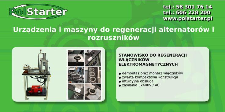 🔲 U nas kupisz najlepsze maszyny i urządzenia do regeneracji alternatorów oraz rozruszników :D  🔎 Zachęcamy do odwiedzenia naszych aukcji w serwisie allegro:  ➜ http://allegro.pl/listing/user/listing.php?us_id=22287661  ✔ Odwiedź także naszą stronę internetową i sklep internetowy: ➜ www.polstarter.pl ➜ www.sklep.polstarter.pl  ⚫ KONTAKT: 📲 792 205 305 ✉ allegro@polstarter.pl  #rozrusznik #alternator #rozruszniki #alternatory #samochód #samochody #motoryzacja #części #samochodowe #oferta