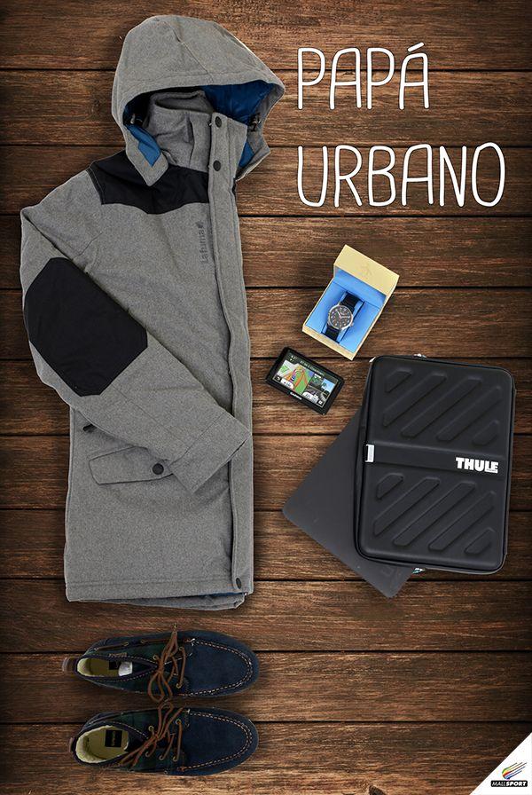 Chaqueta, Lafuma- Reloj, Suntime - GPS auto, Garmin - Funda de notebook, Thule - Zapatos, Billabong