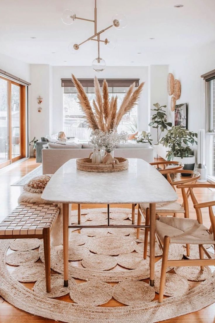 39 Stunning Home Decor Ideas You Ll Want To Copy Chaylor Mads Dining Room Style Bohemian Dining Room Dining Room Design