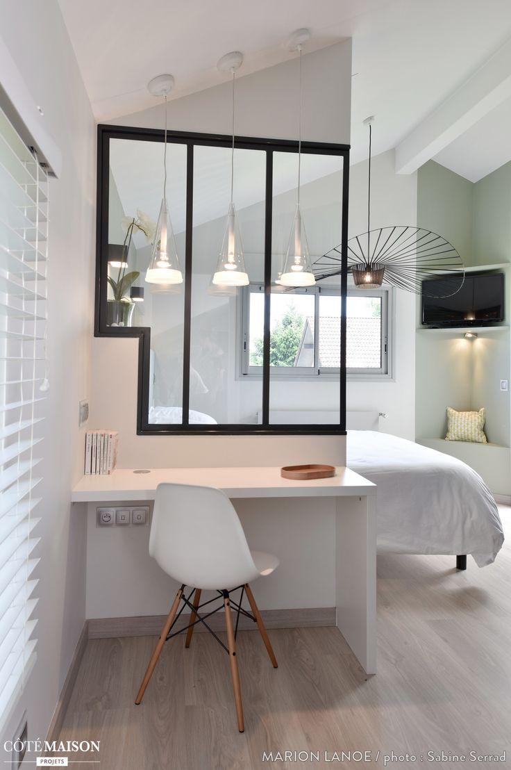 la verrire intrieure une riche ide pour sparer deux pices sans vritable cloison ni gros travaux. Black Bedroom Furniture Sets. Home Design Ideas