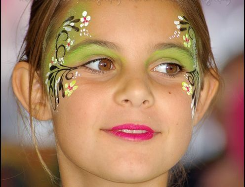 So pretty - could work as fairy make-up.