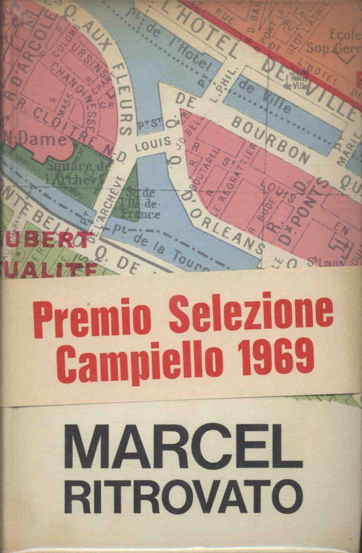 Gramigna GiulianoMarcel ritrovato  1969 prima edizione, grafica DAGRADA , 12mo 249pp collana LA SCALA
