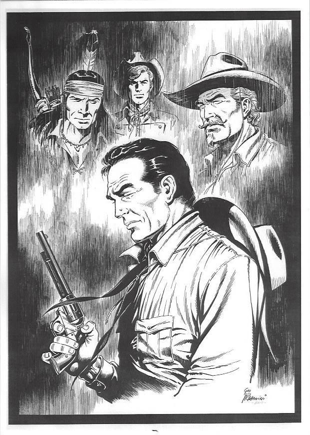 Tex Willer, Kit Carson, Kit Willer, Tiger Jack
